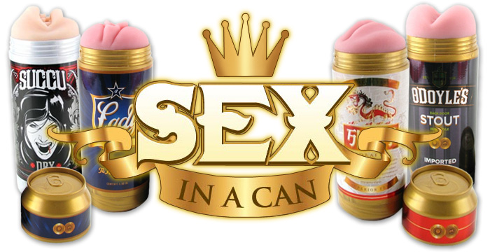 Flesh light sex in a can