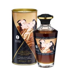 Разогревающее масло Shunga APHRODISIAC WARMING OIL - Creamy Love Latte (100 мл)
