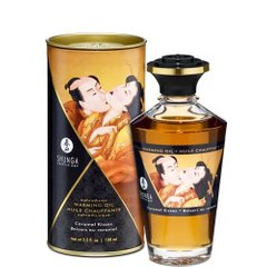 Разогревающее масло Shunga APHRODISIAC WARMING OIL - Caramel Kisses (100 мл)